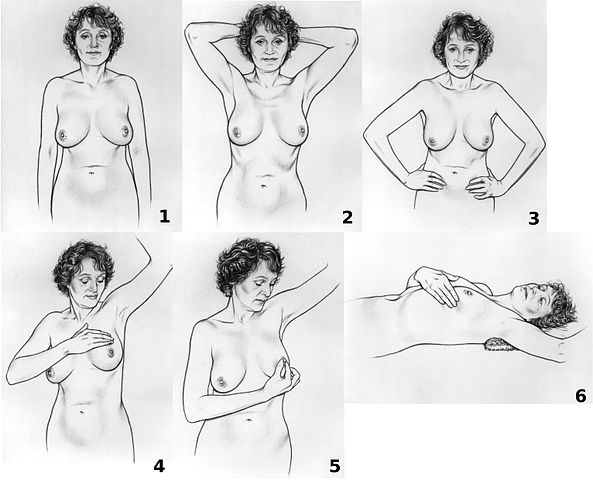 breast self exam